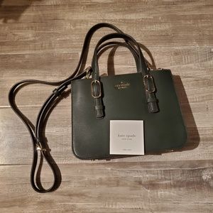 KATE SPADE small Connie triple gusset satchel